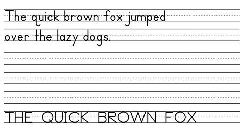 Writing Speed Assessment Sheet