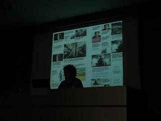 Pablo Errea durante su charla