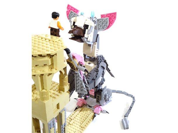 ¡Recrean a Trico con piezas LEGO!, espectacular 2