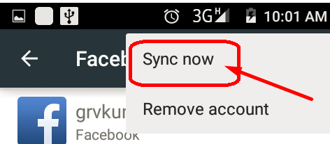 How Do I Sync Facebook Photos with Android Contacts