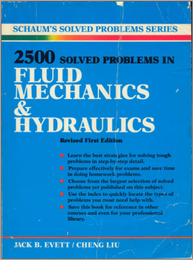 Book : 2500 Solved problems in Fluid Mechanics & Hydraulics PDF
