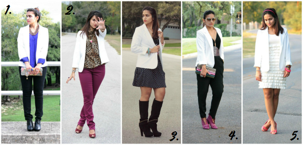 00774085cd7 Shopping Ban Link Up + Five Ways to Wear a White Blazer