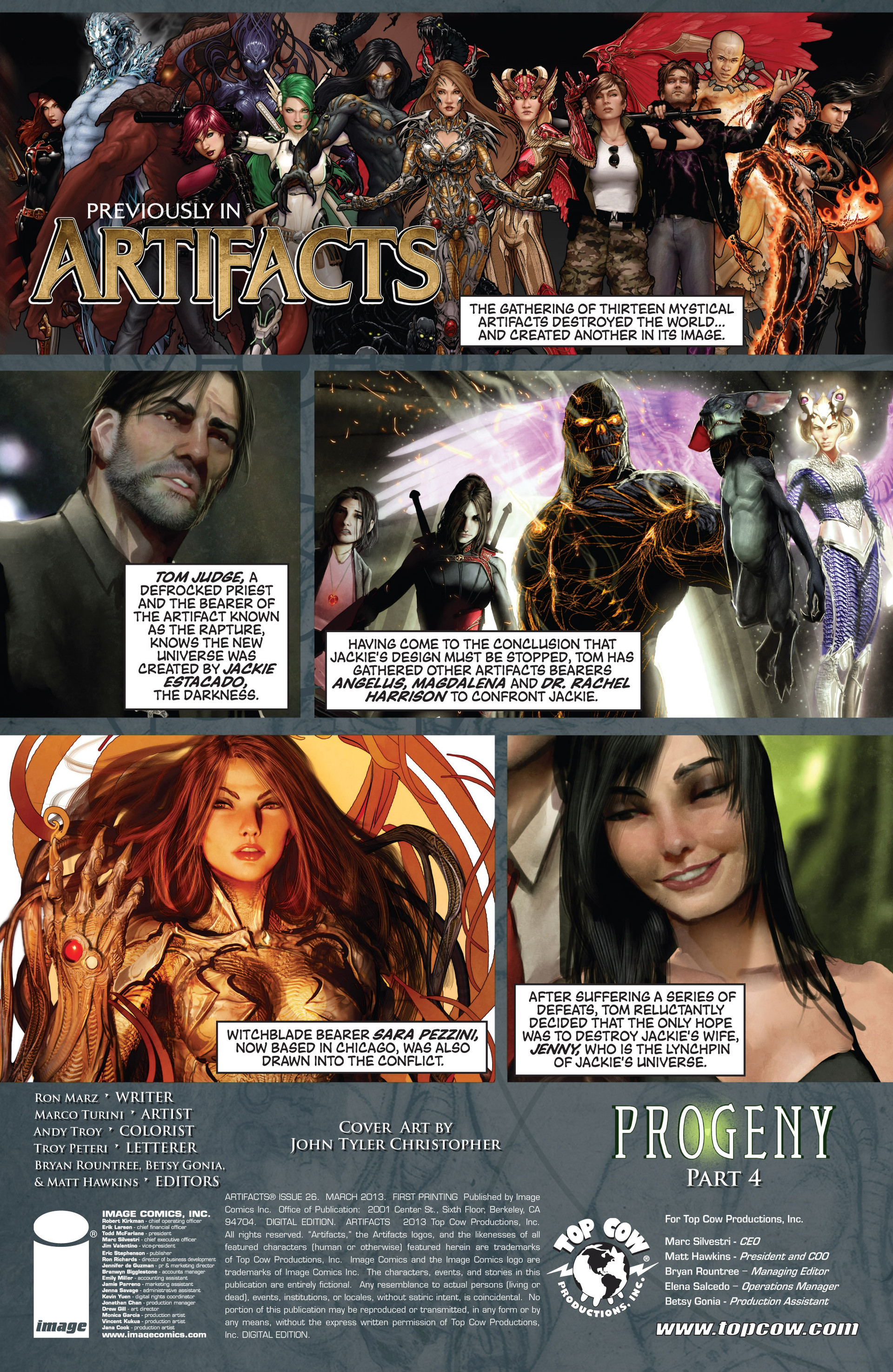 Read online Artifacts comic -  Issue #26 - 3