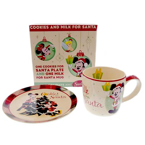 Sasaki Time: Giveaway: Santa Mickey and Minnie Mouse Cookie Plate ...