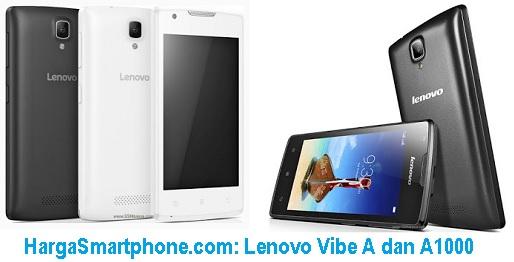 Harga dan Perbedaan Lenovo Vibe A dengan A1000