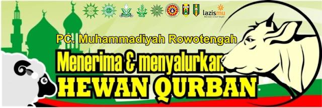 Panitia Qurban PCM Rowotengah