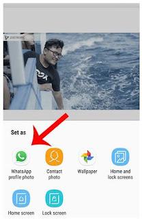 dp whatsapp bergerak