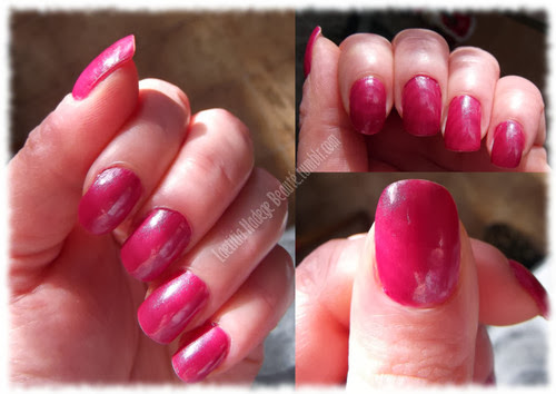 ELF Nail Polish Berry Pink Ongles naturels