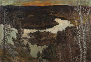 Helmer Osslund - Autumn, Nordingrå