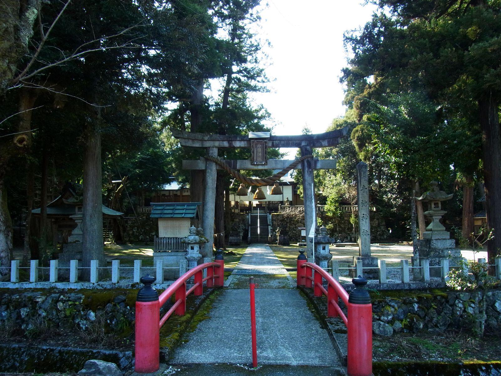 乎彌神社 | ゆき逢い旅日記