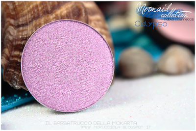 CALYPSO Eyeshedow ombretti SWATCHES  - MERMAID COLLECTION - NABLA COSMETICS