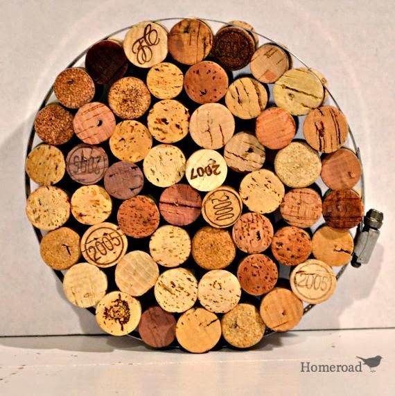 Pumpkin Wine Cork Trivet