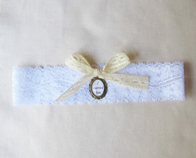 image jane eyre bridal garter stretch lace quote charlotte bronte two cheeky monkeys wedding handmade reader i married him