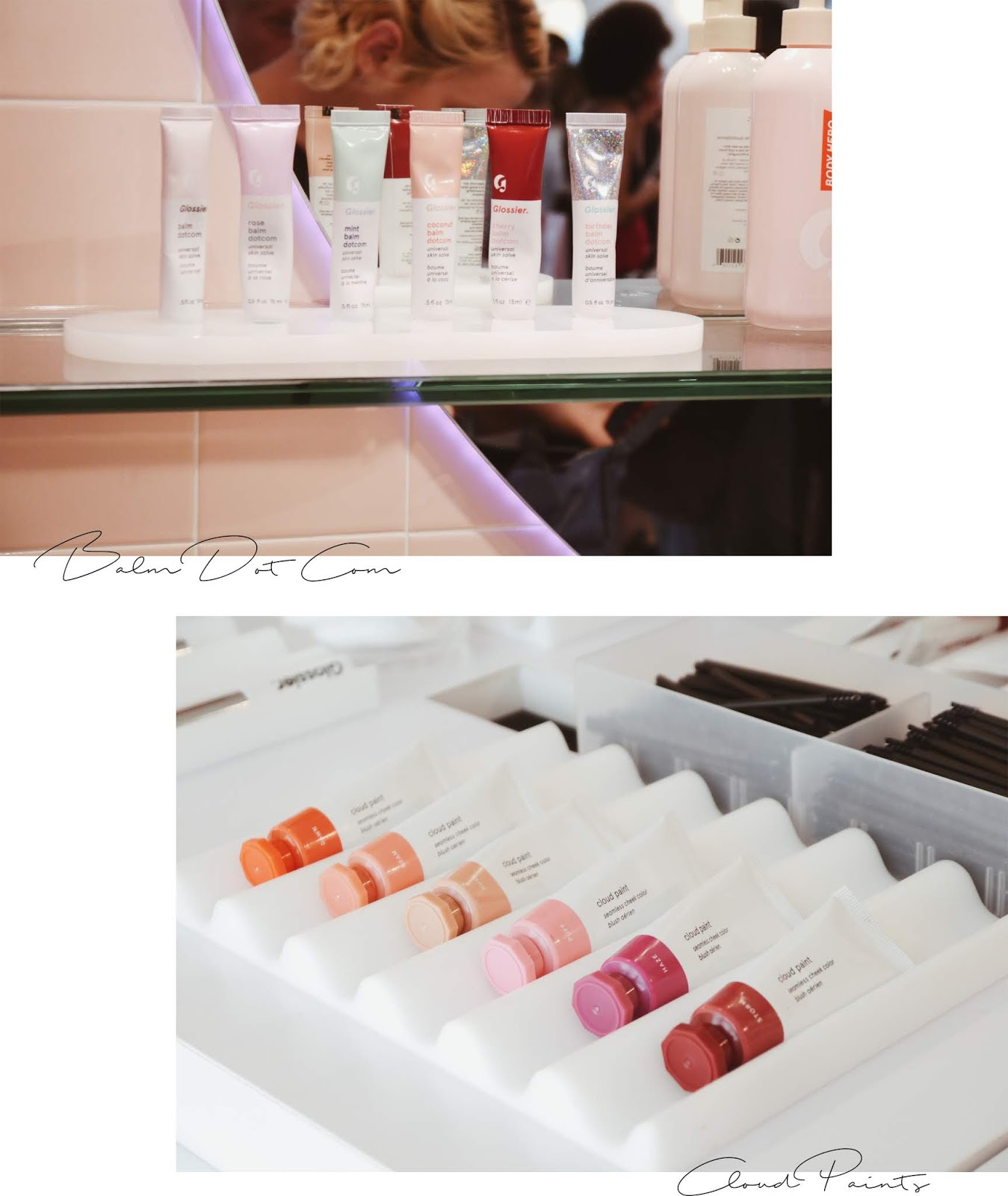 glossier showroom new york nyc noirette diary 8