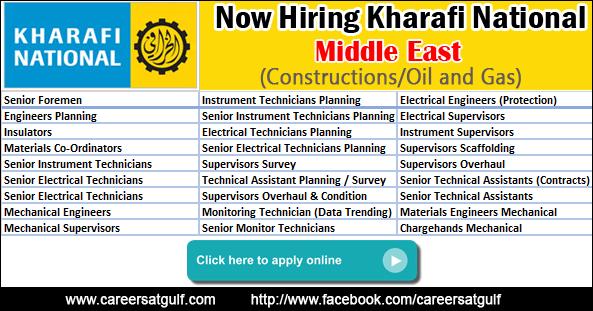 Kharafi National Latest Job Vacancies Gulf Job Vacancies