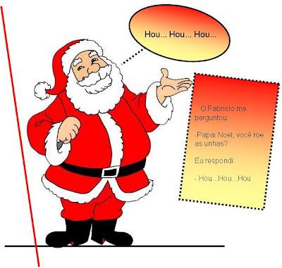 Desenho De Papai Noel Ja Colorido