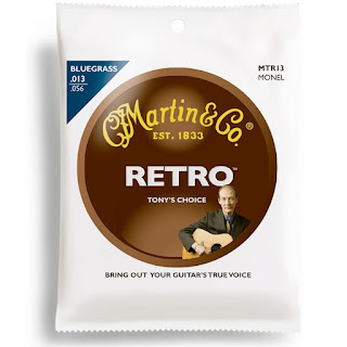 Martin Retro Monel Acoustic Guitar Strings