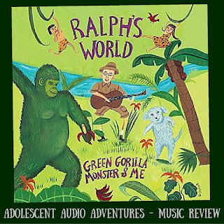 Adolescent Audio Adventures reviews Green Gorilla Monster & Me