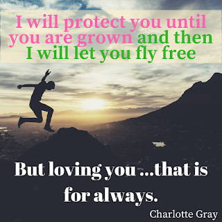 Image with quote from Charlotte Gray