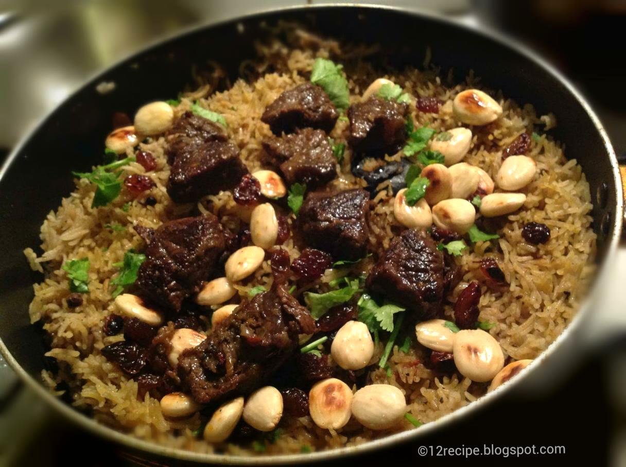 Beef Kabsa Recipe Book