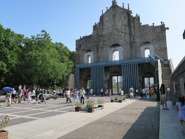 Macau: Ruins of St Paul