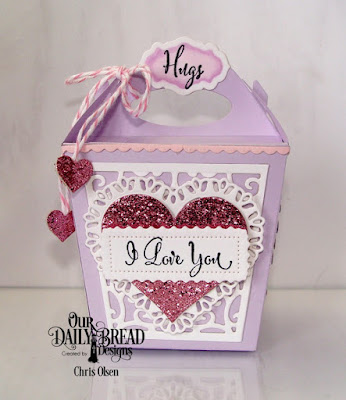Our Daily Bread Designs Stamp Set: Let Love Grow, Our Daily Bread Designs Custom Dies: Glorious Gable Box, Heavenly Hearts, Layering Hearts, Antique Labels, Bitty Borders, Lavish Layers, Tulip Heart