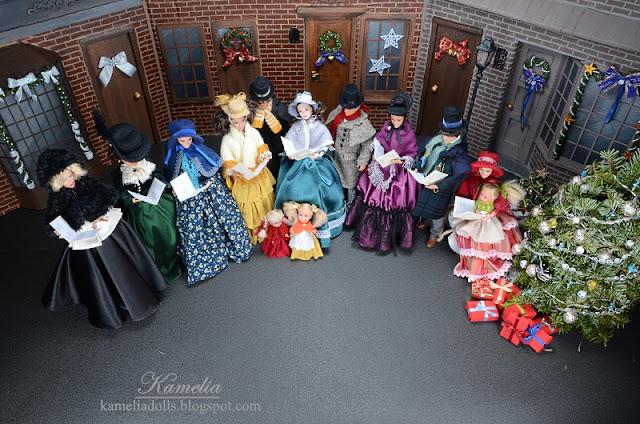 Świąteczne lalki.