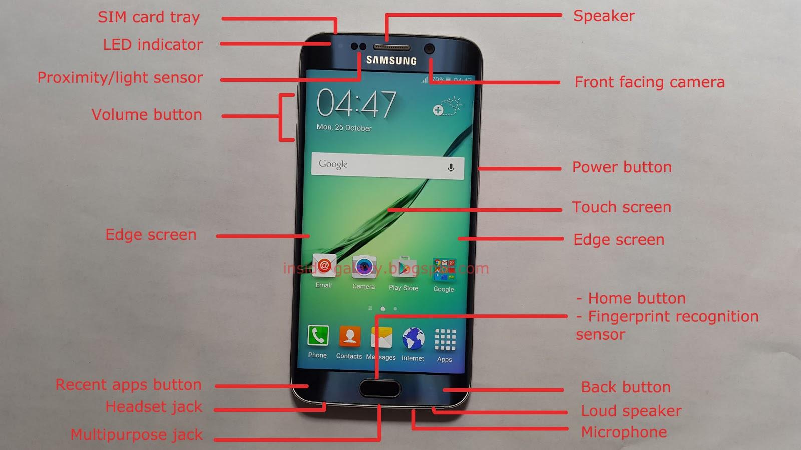 Samsung galaxy s6 edge apps im hintergrund