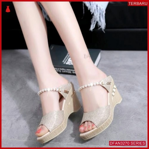 DFAN3270S33 Sepatu Dr 54 Wedges Wanita Permata Wedges BMGShop