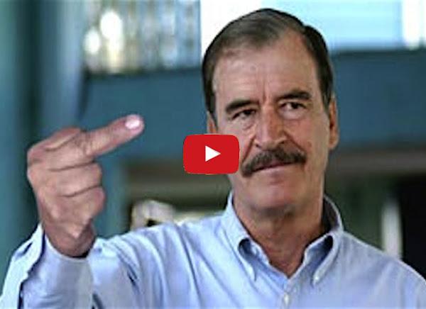 Con este video el presidente Vicente Fox enfureció a Nicolás Maduro