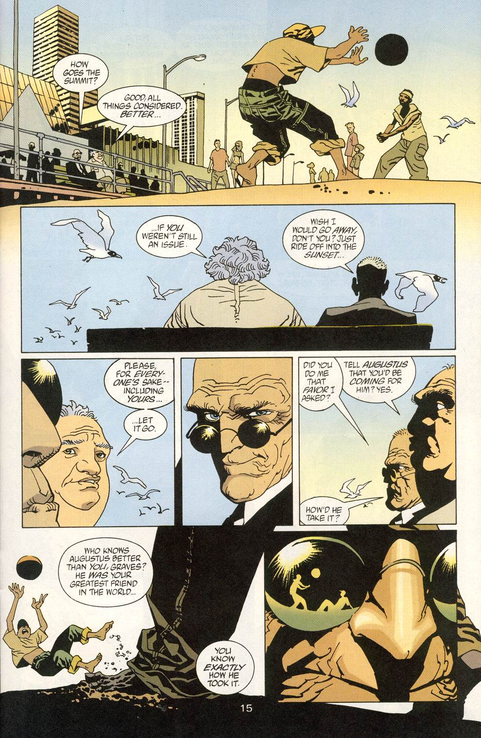 Read online 100 Bullets comic -  Issue #25 - 17