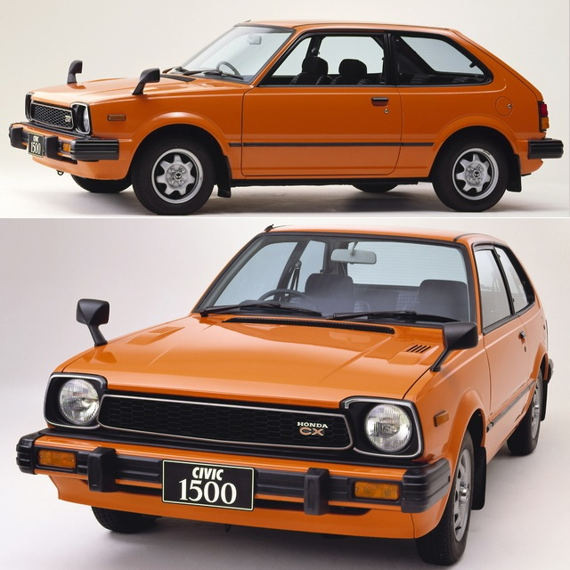 Honda Civic 3-door 1500CX JP-spec 1980