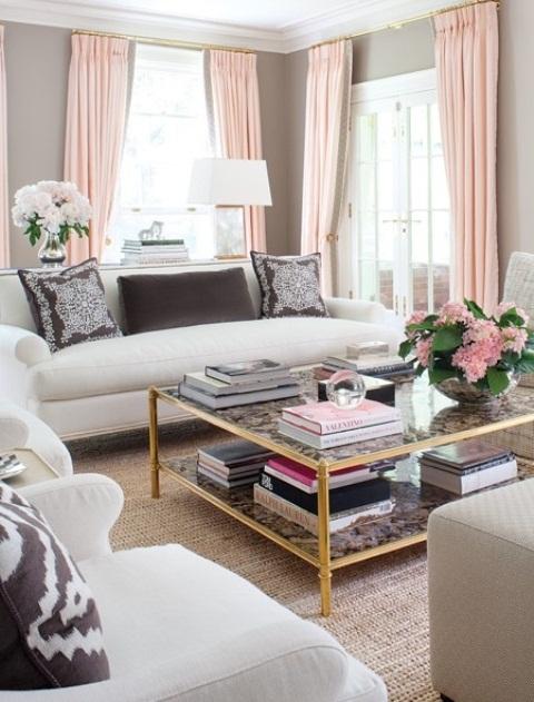 2013 Stylish And Feminine Living Rooms Decorating Ideas | Modern . & Stylish And Feminine Living Rooms Decorating Ideas - Girl Room ...