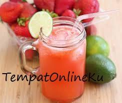 strawberry lime squash