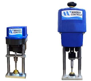 electric linear valve actuators