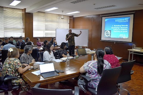 Workshop Towards Developing a Research Culture at NISMED
