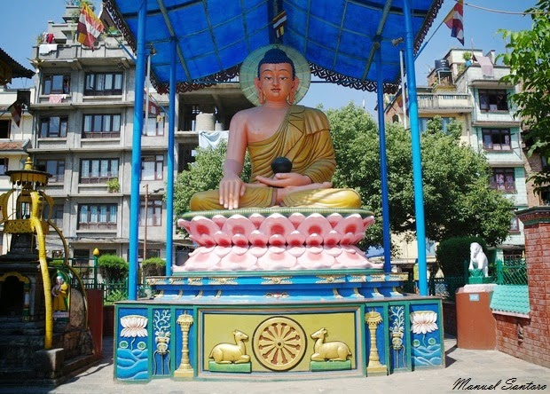 Patan, statua di Sakyamuni
