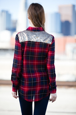 http://www.glitterbuzzstyleboutique.com/collections/chic-styles/products/plaid-sequins-top