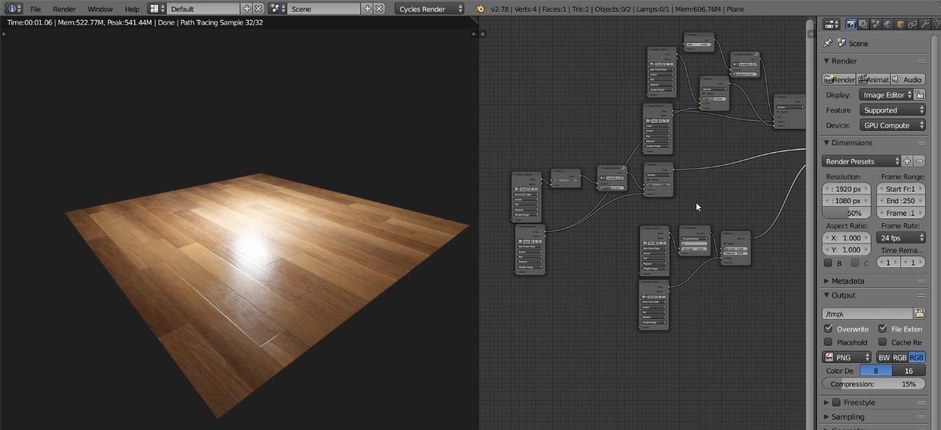 Making A Photo Realistic Wood Using Blender Cg Tutorial