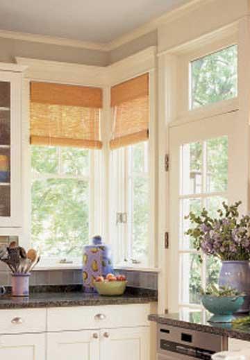 Window Treatment Ideas for Corner Windows   home appliance