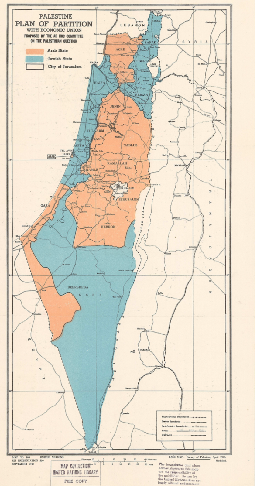 palestine plan of partition 1947