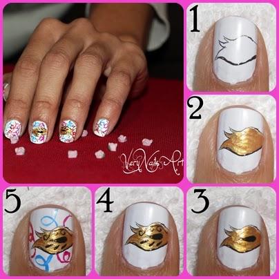 Uñas Para Carnaval Verynailsart Blog De Uñas Decoradas Nail Art