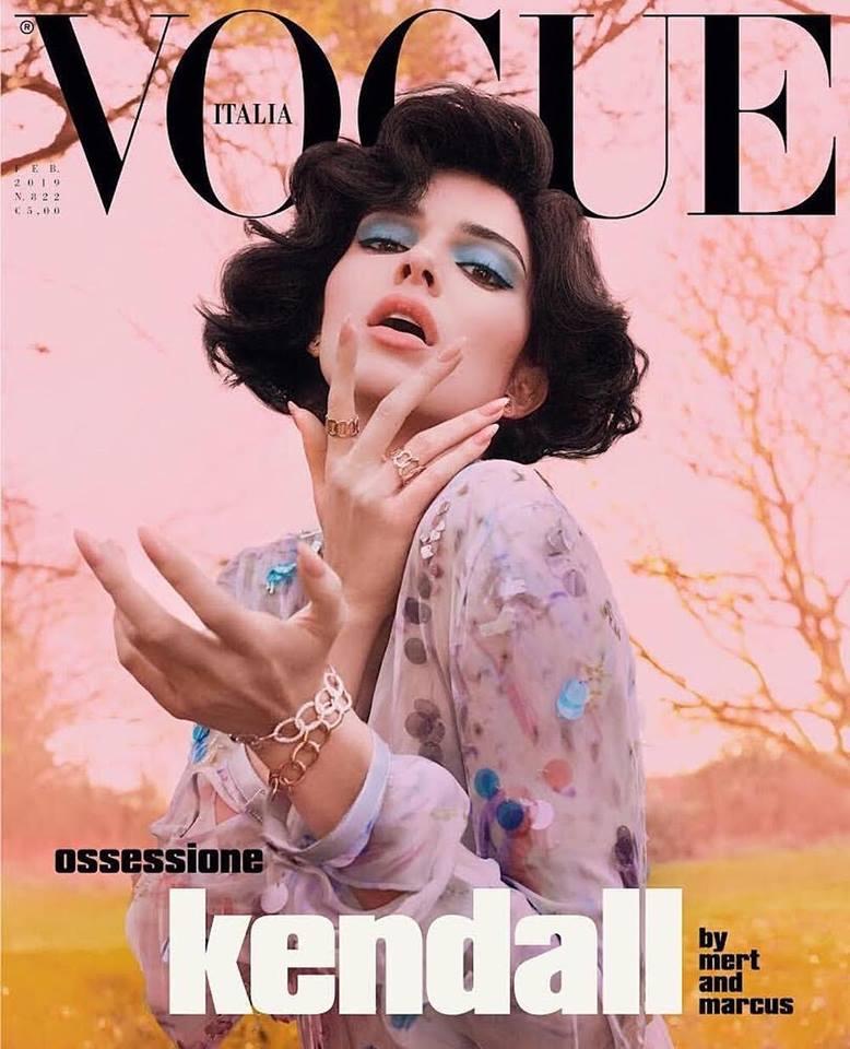 Kendall Jenner for Vogue Italia February 2019