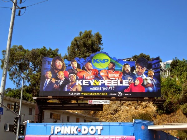 Key and Peele season 4 billboard