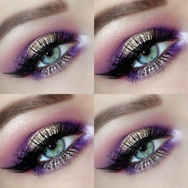 Gemily Barbon Beauty Makeup How To Apply Purple Eyeshadow