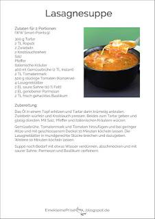 Rezept Lasagnesuppe