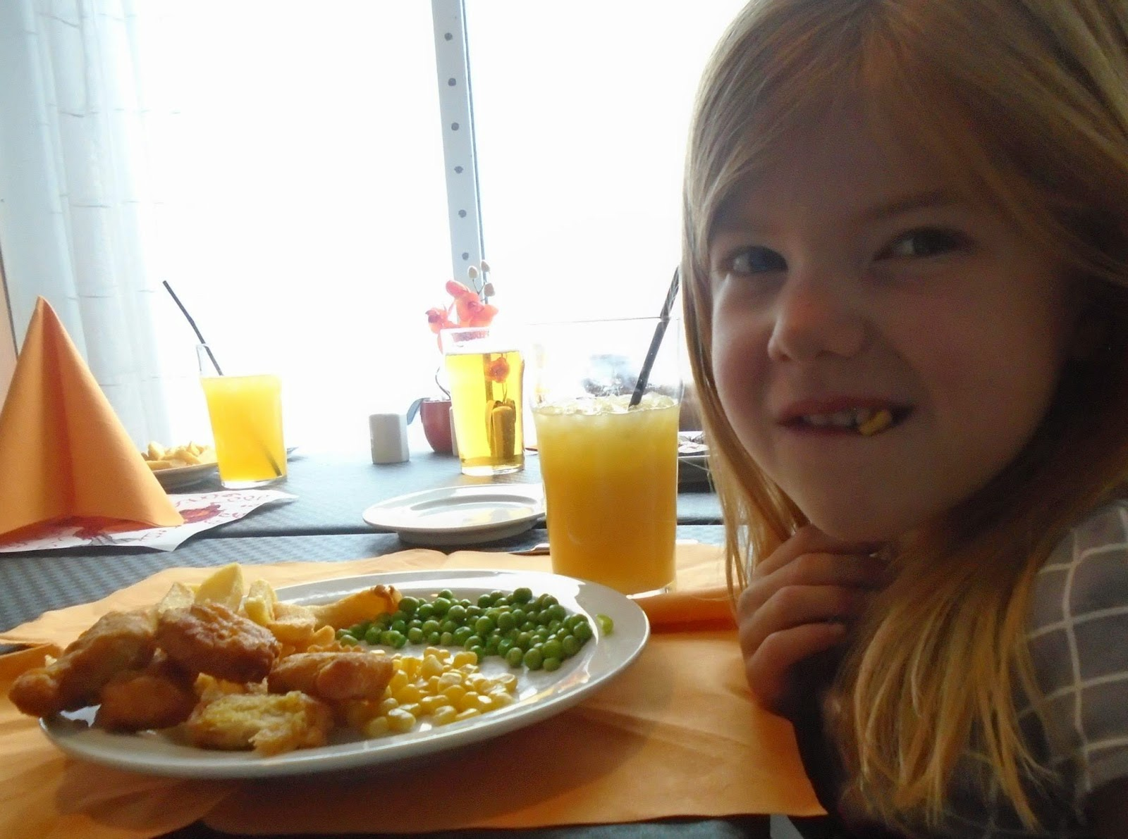 Children's meals aboard DFDS Seaways