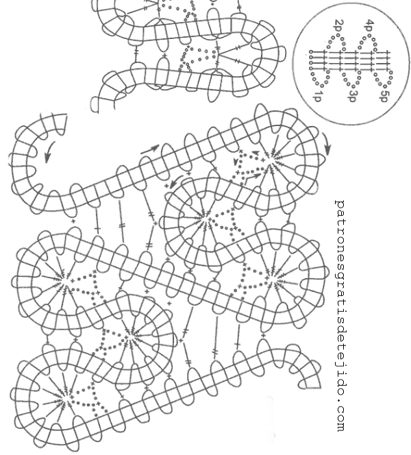 Patrones crochet de delicada blusa de dama - con video | Crochet y ...