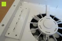 Ventilator schräg: Beurer LR 300 Luftreiniger mit HEPA Filter für 99,5% Filterleistung, ideal bei Heuschnupfen und zur Allergievorbeugung