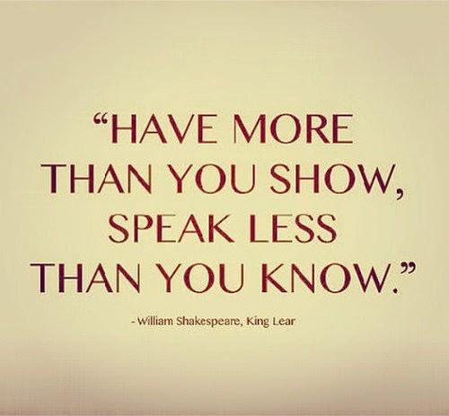 Shakespeare Quotes About Natures Beauty: Shakespeare Quote From King Lear